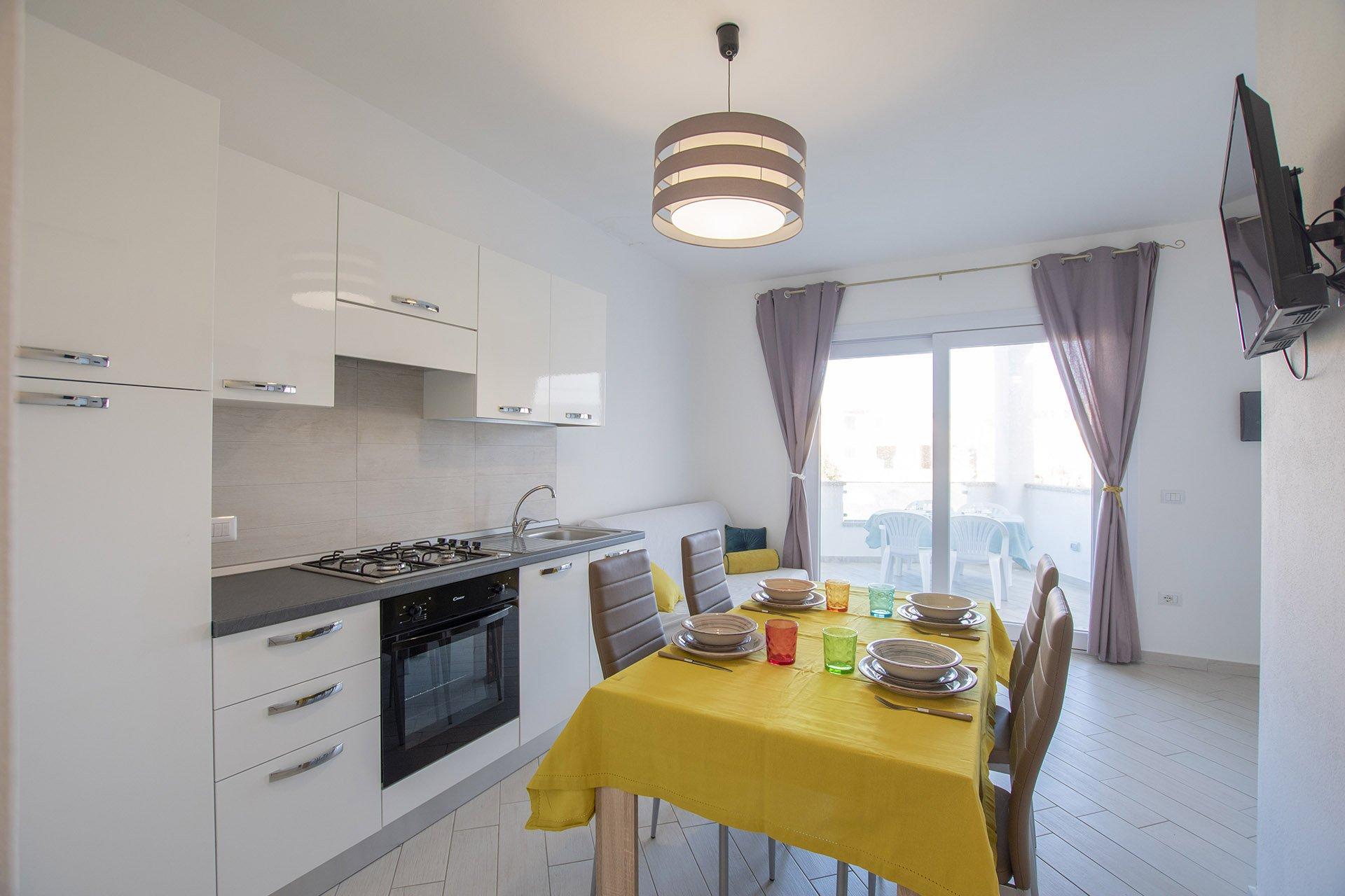 Valledoria, moderno appartamento in vendita a La Ciaccia, una finestra sul mare